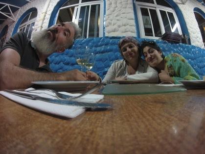 a cena presso LA RAMPA