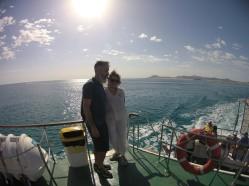 Sul traghetto verso ISLA DE LOBOS