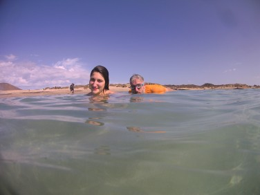 Una capatina nelle acque dell'isola di Lobos