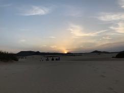 Dune al tramonto