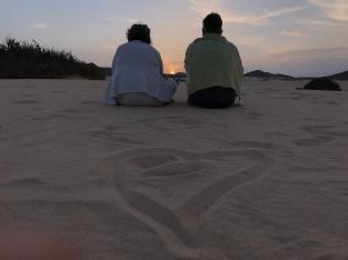 amorosi al tramonto