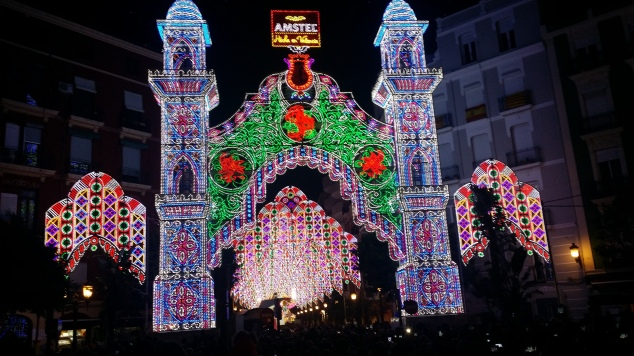 luminarie di Valencia